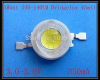 The Lowest Price 1Watt High Power LED Bridgelux Chip 130-140lm 1000pcs/lot
