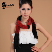 2014 155*5 ladies's fashional mink fur scarf with tassels