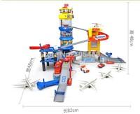 Wholsale Fancy assembly blocks orbit toys international aviation center children's toys  hot sale