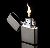 Black ice kerosene lighter winds board creative original high-end gifts 856565