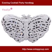 Butterfly shaped women wedding party handbag