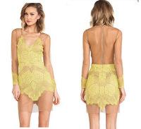 LBL9927  New 2014  Fashion  Lace Stitching Collar Women Dress Sexy Evening Dresses Vestido De Festa
