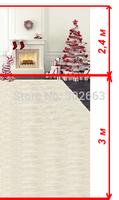 backgrounds newborn stage wedding background 270cm*600cm photography background christmas trees