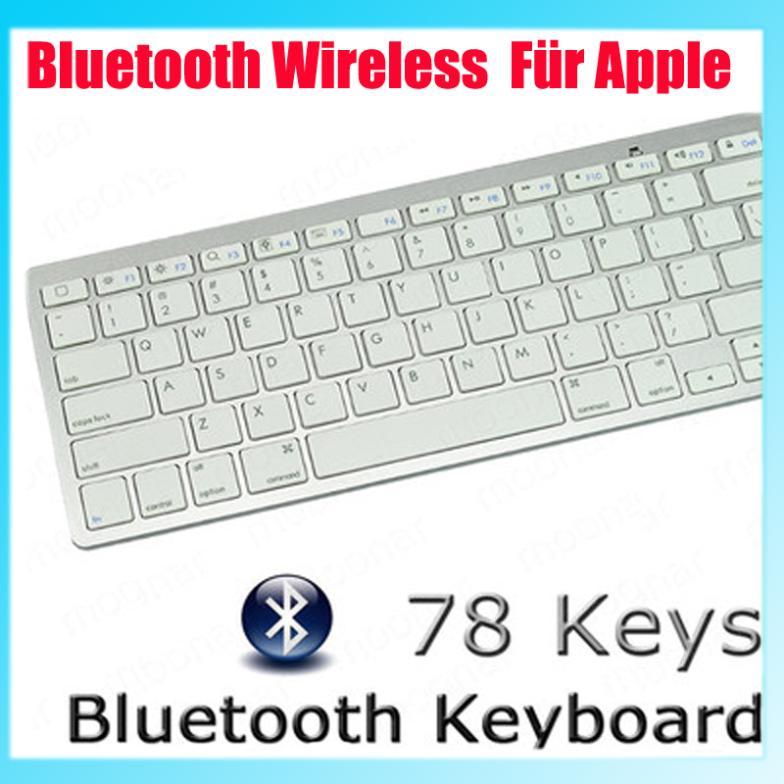 78 Keys 10 meter distance Bluetooth Wireless Keyboard For ipad XDA00047(China (Mainland))