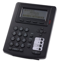 Free shipping HD voice 3 SIP lines call center telephone VoIP SIP VoIP Phone, IP with RJ9 headset interface,Asterisk,Elastix