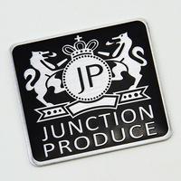 New style square jp vip ticker the whole body / car accessories emblem sticker For subaru toyota mazda