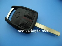 Hot sale with Best quality Opel 3 buttons remote key shell with light no logo for opel