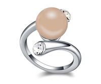 rings Mix wholesale lover's gift new style Pearl rings - Austria is a fairy tale between  the love surrounded