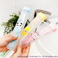 Free shipping! Wholesale high quality fashion, Japanese hanging essential travel portable toothbrush box, toothbrush storage box