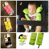 BenBat Travel Friends Seat Belt Pal baby children child car safety belt protective Head and Neck Support child pillow