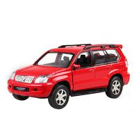 Children's toys 1:32 car model Toyota Prado (Prado) with lights music metal modles car for Christmas gifts