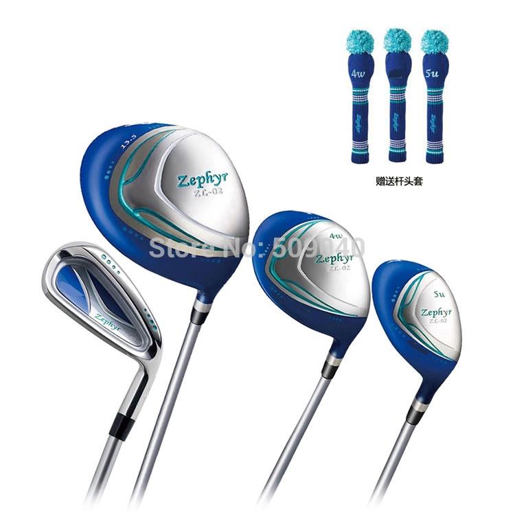клюшка для гольфа Zephyr sl/02 1 #Driver + 4wood + 5UT 5 sl-02