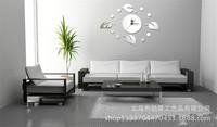 Clover DIY creative home decoration mirror mirror wall stickers wall stickers wall clock watch mirror