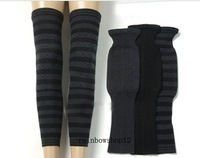 6 pair New Quality Cashmere Wool Unisex Women's Men's Double Layer Thick Long Knee Warmers Joint Care Leg Warmers Winter
