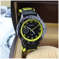 2014 Quartz Men Sports watch military Casual Watches  Wristwatch  Silicone Clock Fashion fashion quartz male silicone watch