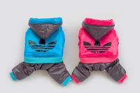 WATER PROOF  New arrival brand batman spiderman dog pet coat jumpers pet jacket hoody clothes S-XXL
