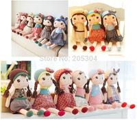 Hot 40CM Metoo Rabbit Angela Girl Plush Toy Doll Placarders 6 design Child Gift birthday & Christmas gift for children