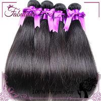 Wholesale Brazilian human hair Brazilian Virgin Straight Hair, Ali Express Hair Real Human Hair Weave Straight, 3pcs