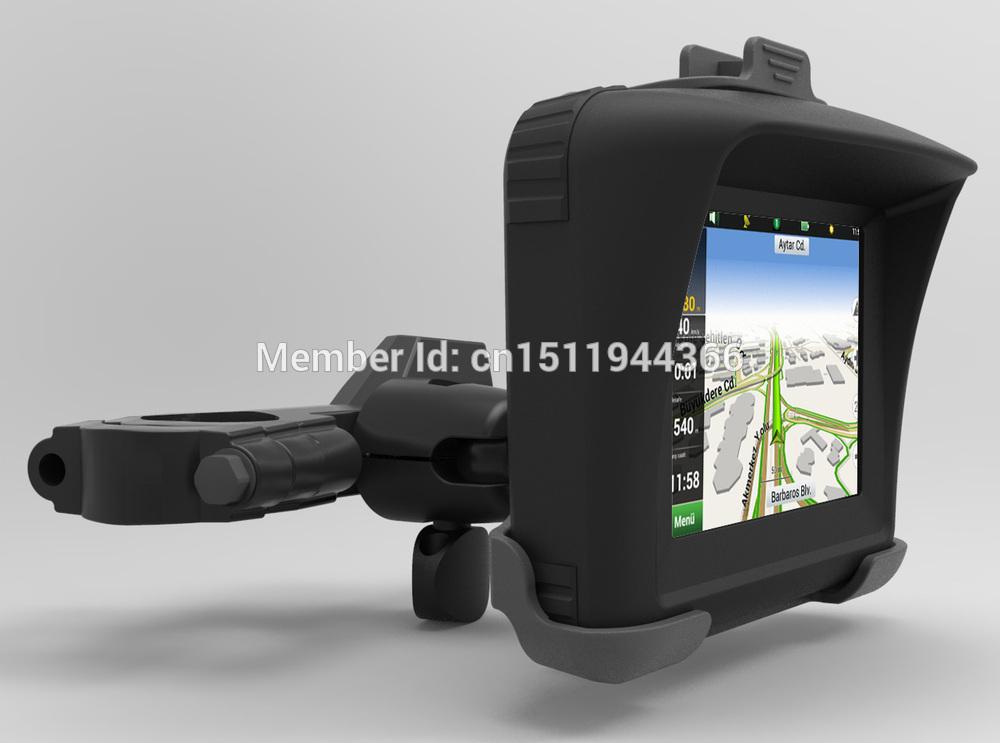 3.5 polegadas ipx7 impermeável bluetooth tela de toque gps de navegação para o motor, com mapa da maioria dos países(China (Mainland))
