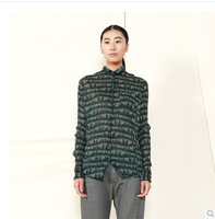 JNBY winter female temperament Slim fold shirts 5C71E13