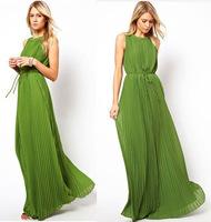 Free Shipping~2014 New Fashion Sexy Women Lady Chiffon Long Maxi Dress Backless Evening party Cocktail Dress S/M/L/XL