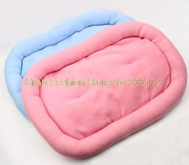 3 pçs/lote 2 colors Dog pet cão pad ninho pad 47 * 32 cm 60 * 45 cm Mn010(China (Mainland))