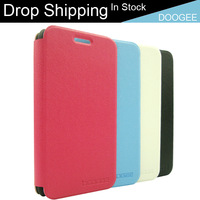 IN STOCK Original Best Quality Doogee DG310 Flip Leather Case Cover Red White Black Blue Drop Shipping