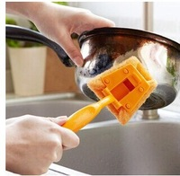 Kitchen supplies, creative home strong decontamination sponge brush brush multi-functional kitchen cleaning supplies