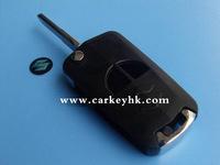 Hot sale with Best quality Suzuki 2 buttons flip modified remote key shell for suzuki