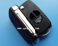 Hot sale with Best quality Suzuki 2 buttons flip modified remote key blank for suzuki sx4