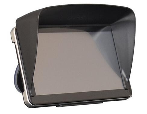 Black 7 inch Navigation Car GPS Sunshade Anti Glare Accessories parts Sun Shield Gps sunshine Umbrella navigator Free shipping(China (Mainland))