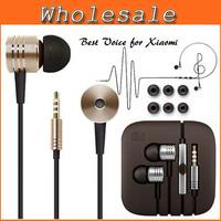 2014 New Metal Earphone Headphones Headset For Xiaomi In-Ear Piston Earphone with Remote Mic For iPhone Samsung XIAOMI MI2 MI2S