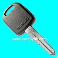 Hot sale with Best quality Suzuki transponder key with right blade 4C chip for suzuki carbon