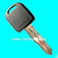 Hot sale with Best quality Suzuki transponder key with left blade 4C chip for suzuki burgman