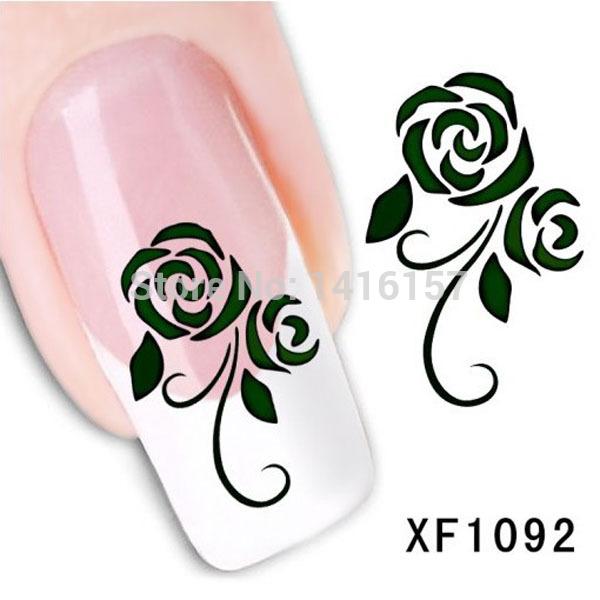 Наклейки для ногтей Fashion-style  XF1092