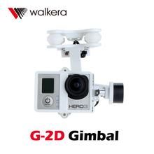 Original Walkera FPV Quadcopter G-2D Brushless Gimbal White for iLook/GoPro Hero 3 Camera on Walkera QR X350 Pro(China (Mainland))