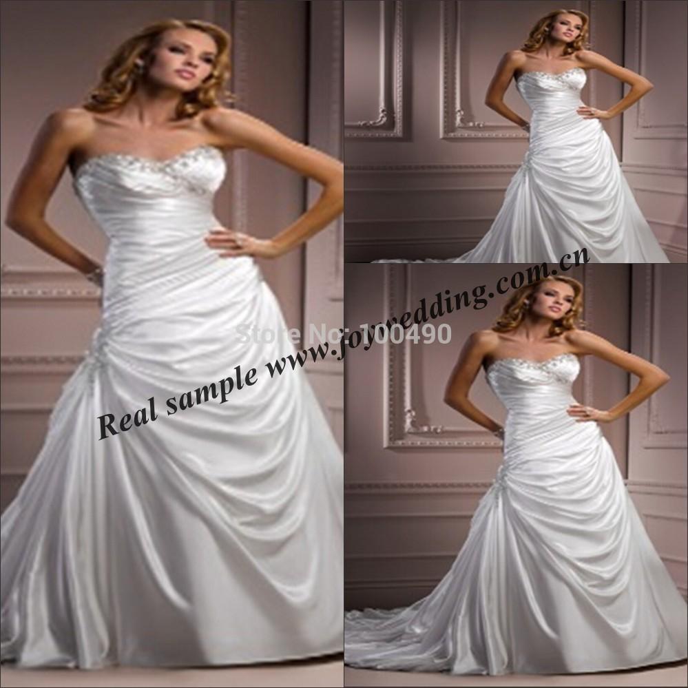 Más vestidos de boda Tamaño de clientes