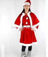 hot sale ! High-grade gold velvet Christmas dress for women