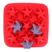 5pcs/lot starfish ice chocolate ice mold mold mold ice ice making box of the ice making lattices