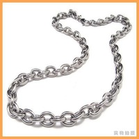 Interlocking Circle Stainless Steel Mens Necklace JP10008097