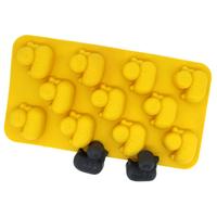 5pcs/lot little ducks ice mold chocolate ice ice ice lattice box mold