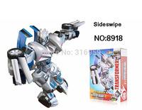 New Transforms Genuine 4 Sideswip Robot Model Assemble Transformation Action Figure building blocks intellective Toys