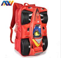 Free Shipping!New 2014 Charming EVA&Satin Unisex Backpack School Rucksack Portable Student Bag Racing School bags