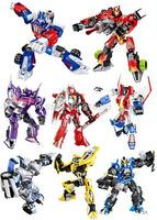 Whole Optimus/Bumblebee/Megatron/Starscream/Shockwave/Sentinel/Sideswipe/Ironhide Assemble Transformation Figure blocks Toys