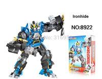 New Transforms Genuine 4 Ironhide Robot Model Assemble Transformation Action Figure building blocks intellective Toys