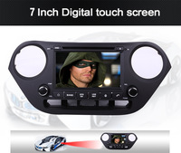 Free shipping !!Newest CAR ENTERTAINMENT SYSTEM WITH GPS FOR HYUNDAI I10 2013-with gps ,3G ,Support 1080p ,ihphone 5s .