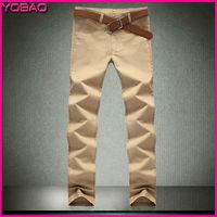2014 New Fashion Summer Men's Large size thin Casual Elegant Slim Simple Straight Pants ZEV6688 Plus size 29-44 free shipping