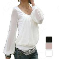 2014 Women Blouse Spring Summer autumn Long Sleeve Casual Shirts Chiffon Top Shirt Blouses for womens dress SE0131