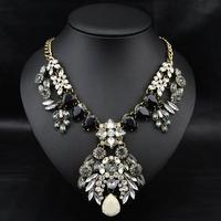 Wholesale Jewelry New 2014 Fashion Perfume Women Brand Accessories Chunky Statement Pendant& Necklace Women Collar