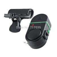 NEW Electronic Fishing Bite Alarm Bell Fish Rod Pole with LED light & sound alert 50PCS/Lot DHL/FEDEX FREE Shipping